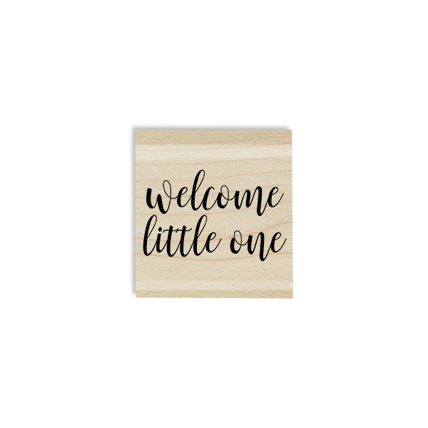 Welcome Little One Craft Stamp Body and Design