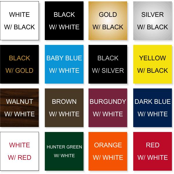 Top 16 Color Option