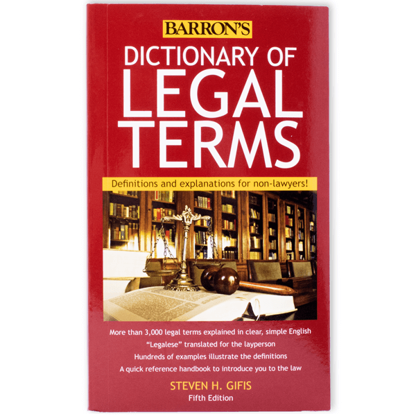 Legal Terms Dictionary