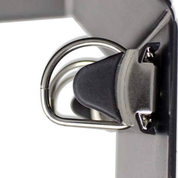 Black D-Ring Binder Close Up