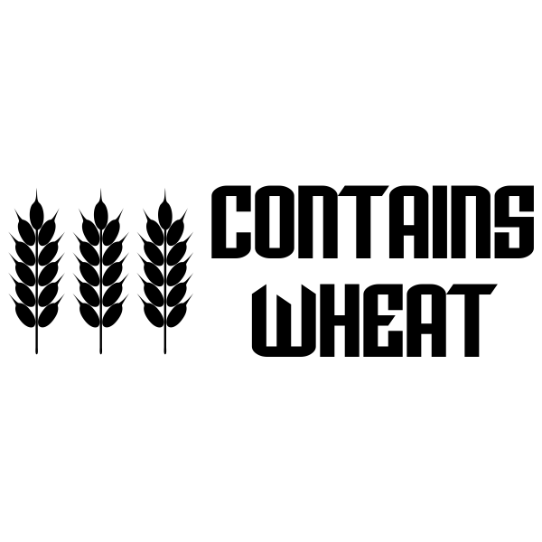 Contains Wheat Stamp Imprint