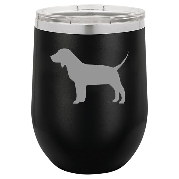 Beagle Dog Stemless Wine Tumbler 904 Custom