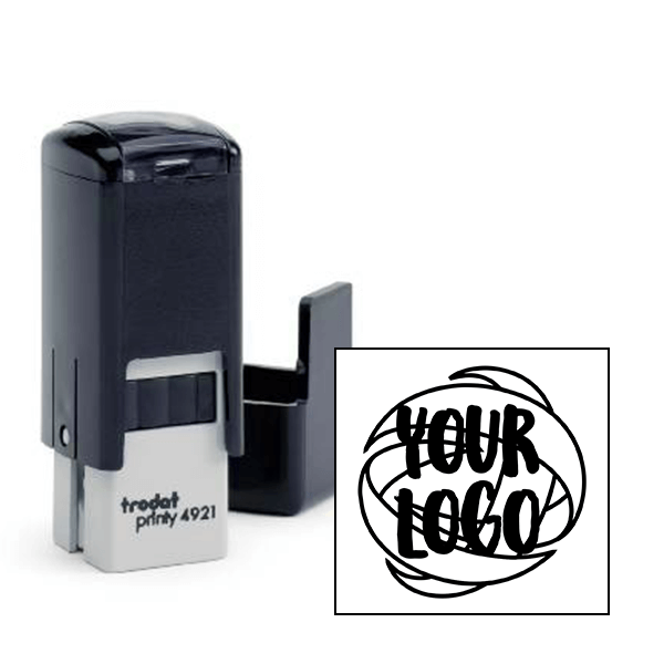 Round Logo Loyalty Stamp