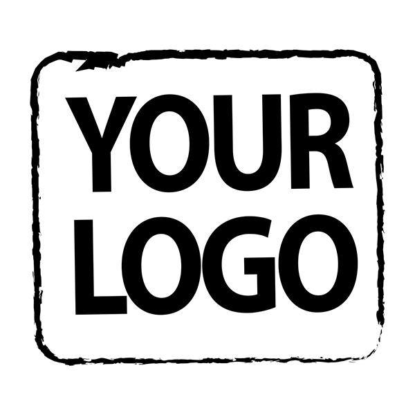 Square Logo Loyalty Stamp Imprint