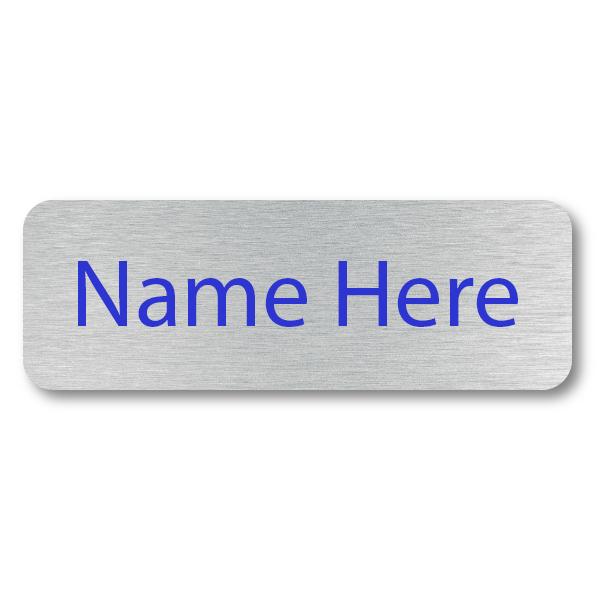 1 Line UV Printed Custom Name Badge