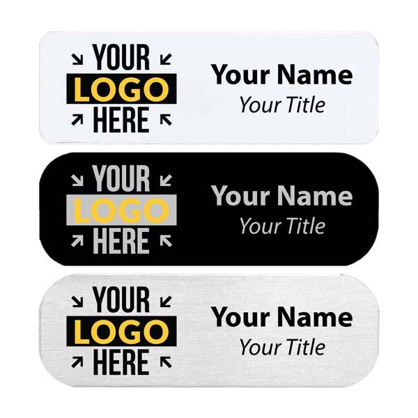 "Custom Full Color Custom Name Tag | 1"" x 3"""