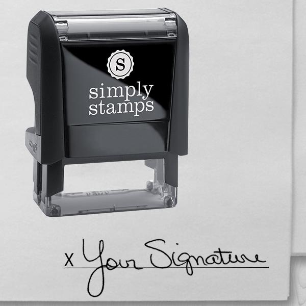 Custom Signature Stamp