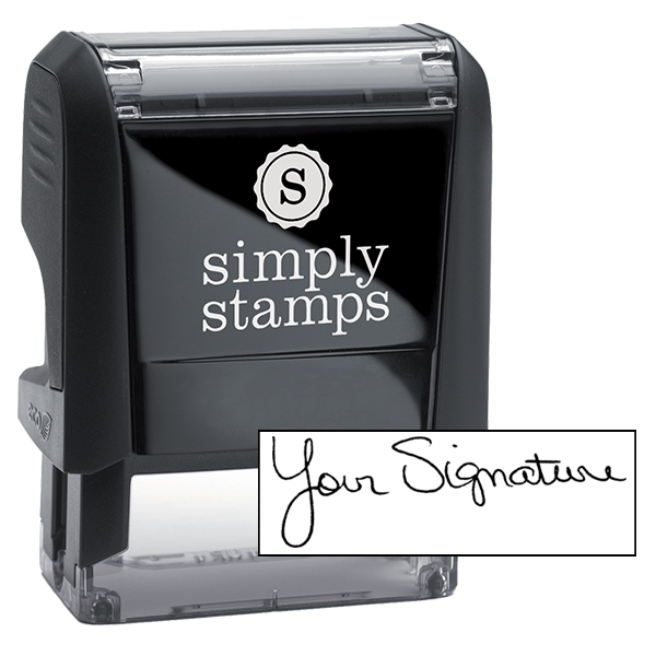 Self Inking Signature Stamp