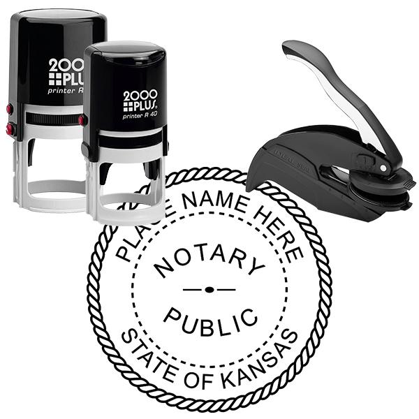 Kansas Notary Public Stamp Seal