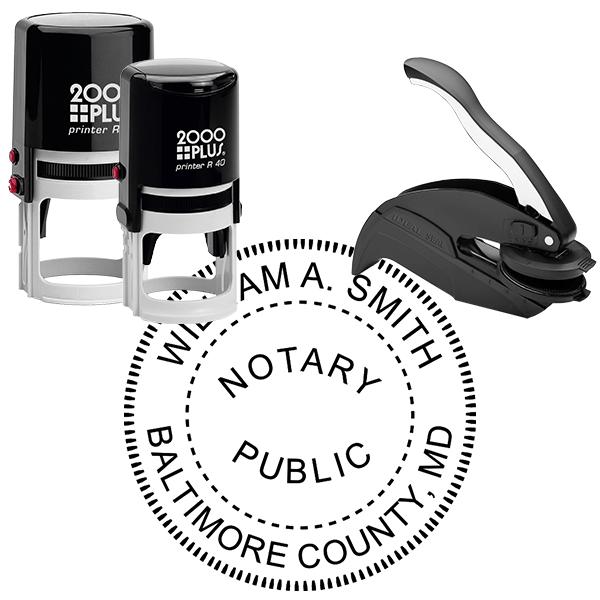 Maryland Notary Round