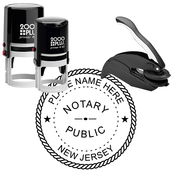 New Jersey Notary Round