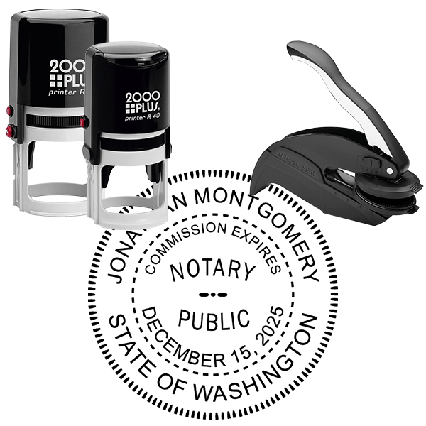 Washington State Notary Round