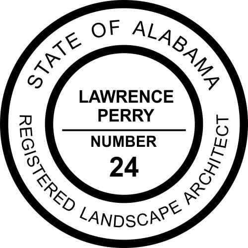 Alabama Landscape Architect Stamp Seal