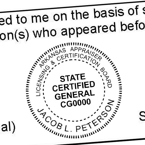 State of Alabama  Land Surveyor Seal Imprint
