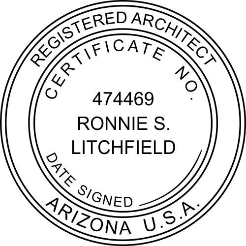 State of Arizona Architect