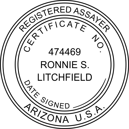 Arizona Assayer Stamp
