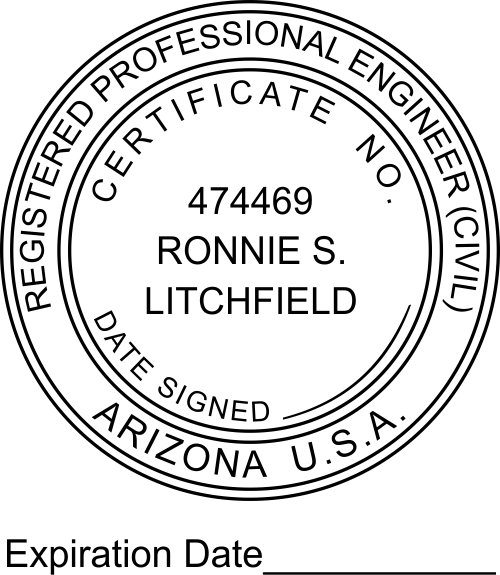 State of Arizona Engineer with Expiration
