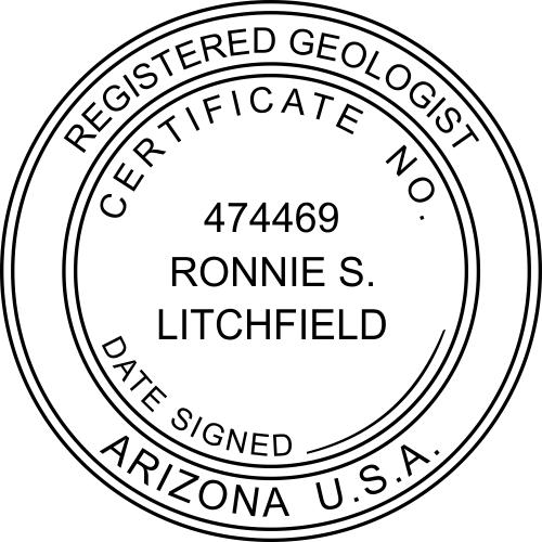 Arizona Geologist Stamp
