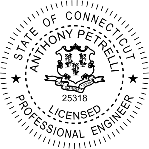 Connecticut Engineer Stamp Seal