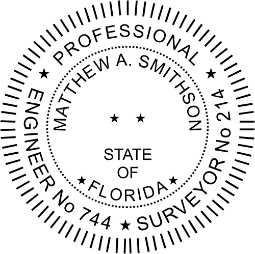 Florida Dual Engineer & Surveyor Seal