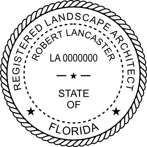 Florida Landscape Architect Seal