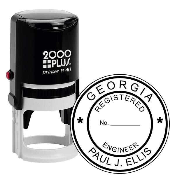 State of Georgia Engineer Seal