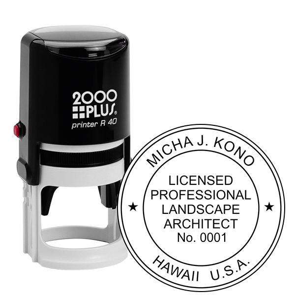 State of Hawaii Landscape Architect