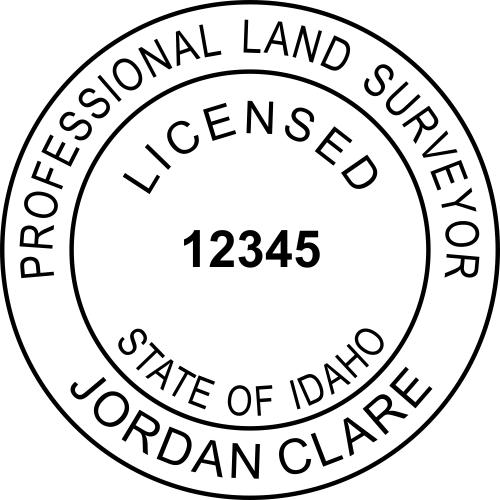 State of Idaho Land Surveyor