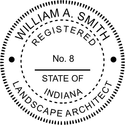 State of Indiana Landscape Architect