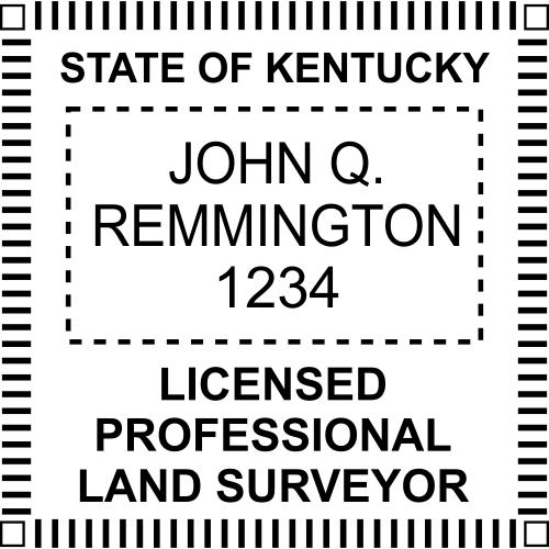 State of Kentucky Land Surveyor