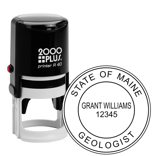 State of Maine Geologist