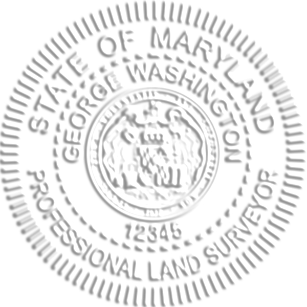 Maryland Land Surveyor Seal