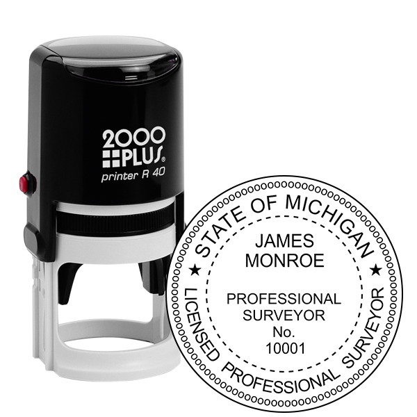 State of Michigan Surveyor Seal