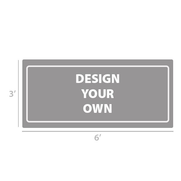 3' x 6' Custom Full Color Vinyl Banner