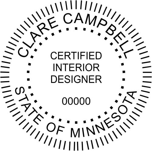Minnesota Interior Designer Stamp
