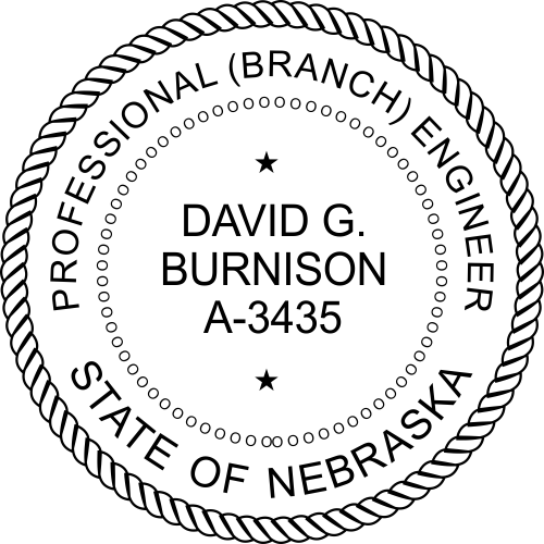 Nebraska Engineer Stamp