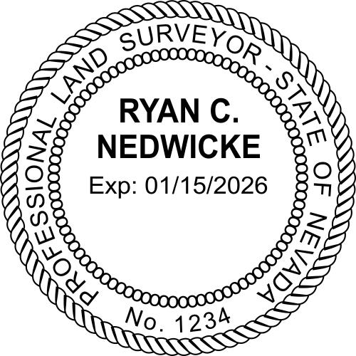 State of Nevada Land Surveyor