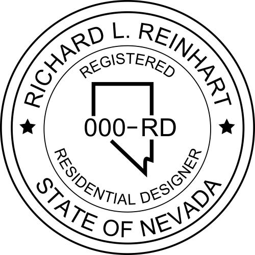 Nevada Residential Designer Stamp
