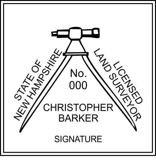 State of New Hampshire Land Surveyor