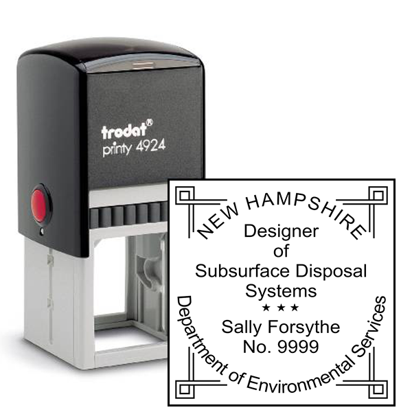 State of New Hampshire Subsurface Disposal Systems
