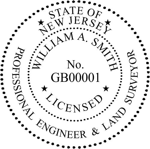 New Jersey Engineer & Surveyor Seal