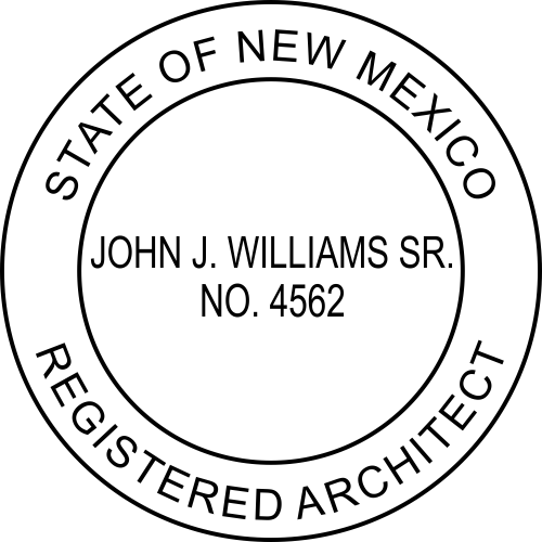 State of New Mexico Architect