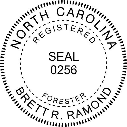North Carolina Forester Seal