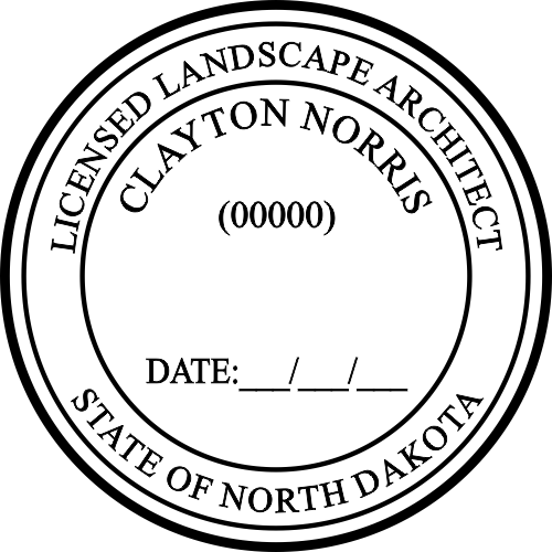 State of North Dakota Landscape Architect