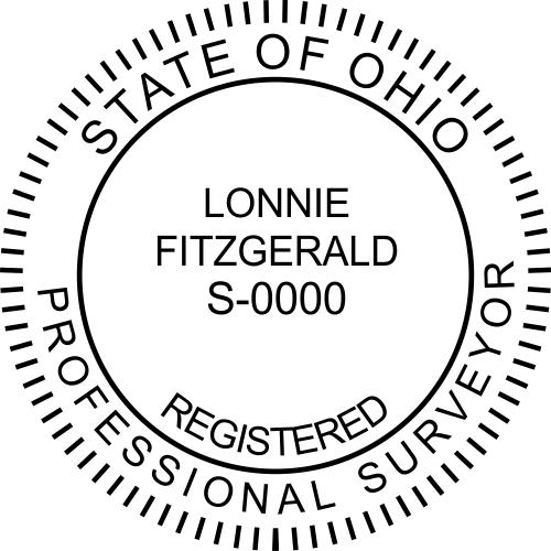 Ohio Surveyor Stamp