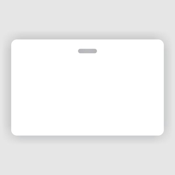Horizontal Double Sided ID Card
