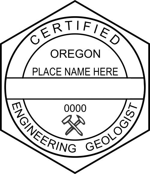 Oregon Engineering Geologist Stamp