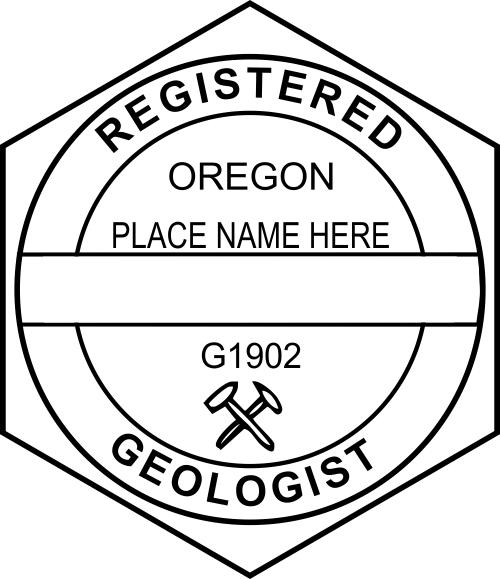 Oregon Geologist Stamp