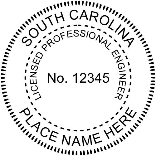 South Carolina Engineer Seal