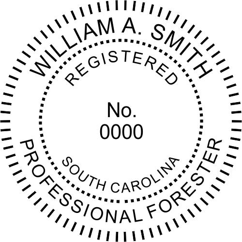 South Carolina Forester Stamp